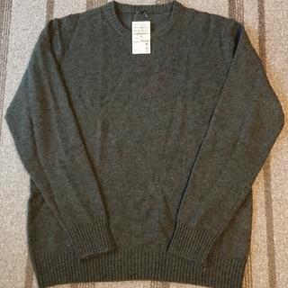 無印良品 メリノウール クルーネックセーター