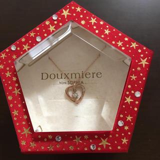 ソフィアコレクション(Sophia collection)のDouxmiere bijou SOPHIA K10PG リバーシブルネックレス(ネックレス)