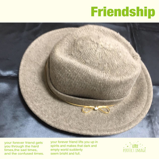 アンテプリマ(ANTEPRIMA)のANTEPR IMA アンテプリマ の帽子 新品(ハット)