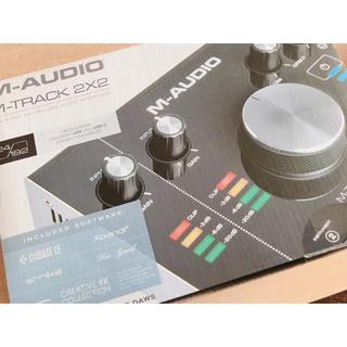 もんちゃん様 専用 M-AUDIO M-TRACK 2X2 (オーディオインターフェイス)