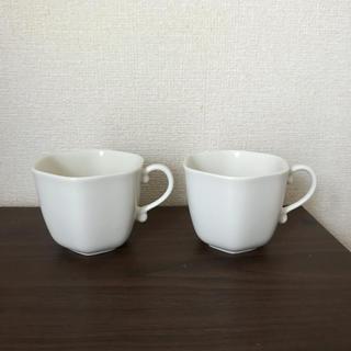 アクタス(ACTUS)のACTUS 白 ペアマグカップ(食器)