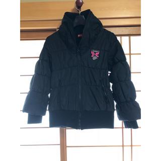インナープレス(INNER PRESS)のインナープレス 襟ボア中綿コート ブラック140(コート)