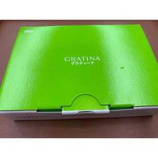 エーユー(au)の【au】グラティーナ4G★KYF37 green(携帯電話本体)