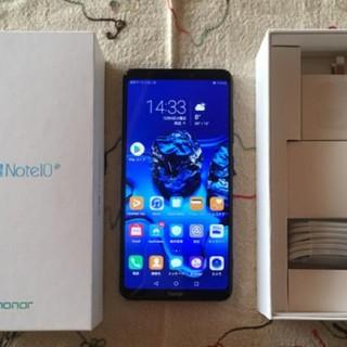 Huawei Honor Note 10 128GB SIMフリー黒(スマートフォン本体)