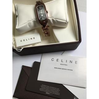 セリーヌ(celine)のCeline 腕時計 箱付き レディース ステンレススチール クォーツ(腕時計)