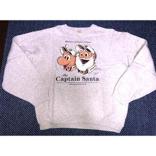 キャプテンサンタ(CAPTAIN SANTA)のキャプテンサンタ☆ビンテージ3回着用美品、送料無料(トレーナー/スウェット)