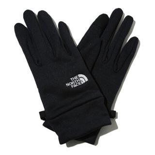 ザノースフェイス(THE NORTH FACE)の新品未使用ノースフェイス グローブ ブラック(手袋)