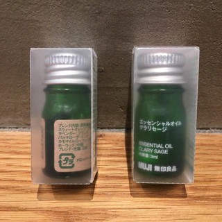 ムジルシリョウヒン(MUJI (無印良品))の無印 エッセンシャルオイル 2個(エッセンシャルオイル(精油))