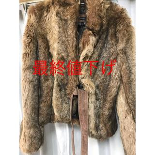 ザラ(ZARA)のZARA ファーコート ジャケット 冬(毛皮/ファーコート)