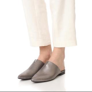 スリーワンフィリップリム(3.1 Phillip Lim)のハドソンロンドン (Hudson London) 革製ミュール(ローファー/革靴)