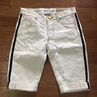 ダブルスタンダードクロージング(DOUBLE STANDARD CLOTHING)のダブスタのホワイトデニムショーツ 38(ショートパンツ)