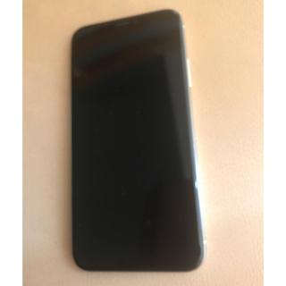 アップル(Apple)の美品 iPhonex 64gb シルバー ドコモ 判定○(スマートフォン本体)