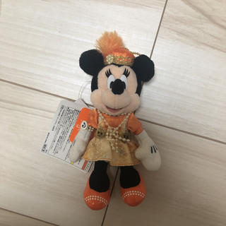 ディズニー(Disney)の2014 ハロウィン ミニー ぬいぐるみバッジ(キャラクターグッズ)