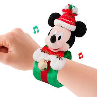ミッキーマウス(ミッキーマウス)のミッキー  クリスマス ぬいぐるみバンド(キャラクターグッズ)