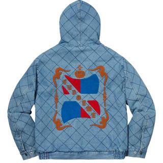 シュプリーム(Supreme)のsupreme quilted denim pilot jacket(Gジャン/デニムジャケット)