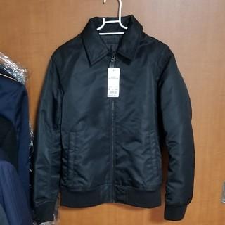 ユニクロ(UNIQLO)のユニクロ フライトジャケット S ブラック(フライトジャケット)