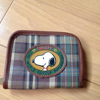 スヌーピー(SNOOPY)のスヌーピー コインケース 財布(財布)