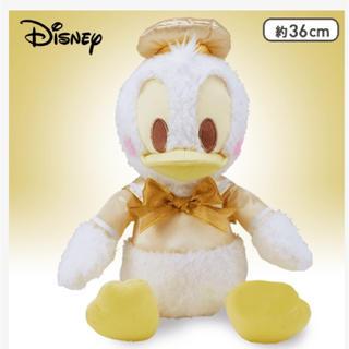 ディズニー(Disney)の♡可愛すぎる『ドナルド』ホワイトゴールドVer.ぬいぐるみ特価♡(キャラクターグッズ)