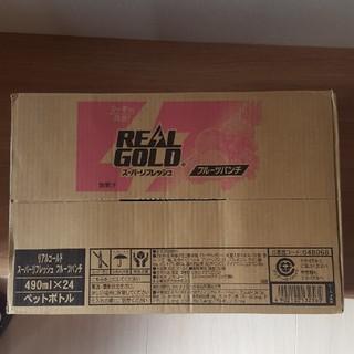 コカコーラ(コカ・コーラ)のリアルゴールド 490ml×24本(ソフトドリンク)