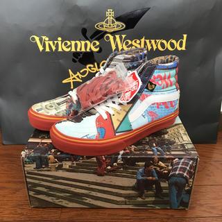 ヴィヴィアンウエストウッド(Vivienne Westwood)のあすちゃん様専用  ANGLOMANIA  SK8-HIコラボスニーカー(スニーカー)
