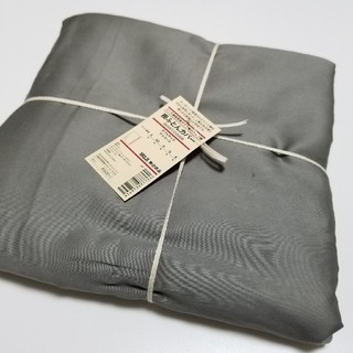 ムジルシリョウヒン(MUJI (無印良品))の無印良品  サテン織ホテル仕様掛ふとんカバー ダブル(シーツ/カバー)