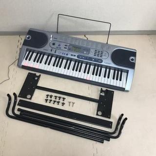 スタンド付☆カシオ 61鍵盤 光ナビキーボード LK-41
