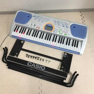 キレイ☆スタンド付☆CASIO 61鍵盤 光ナビキーボード LK-101