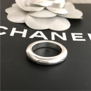 シャネル(CHANEL)の京様専用 シャネル 指輪 シルバー アルファベット 銀 リング 925 −1(リング(指輪))
