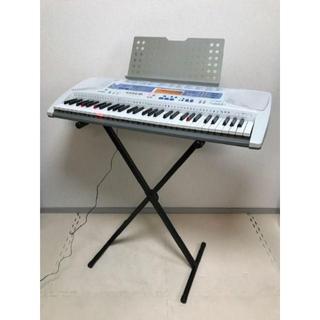 スタンド付☆CASIO 光ナビキーボード 61鍵盤 LK-180TV