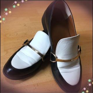 ジーユー(GU)の☆レディースローファーSサイズ(ローファー/革靴)