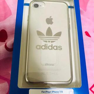 アディダス(adidas)のadidas iPhoneケース アディダス iphone7/8(iPhoneケース)