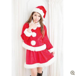新品 サンタ サンタクロース 4点セット クリスマス コスプレ 衣装(衣装)