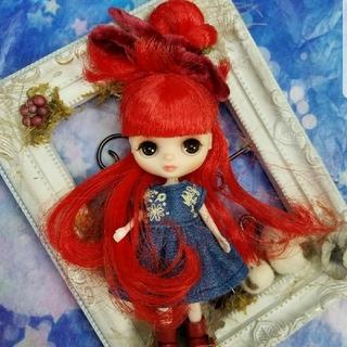 【専用】プチブライス·カスタムプチブライス・チューチューちゃん♡(人形)