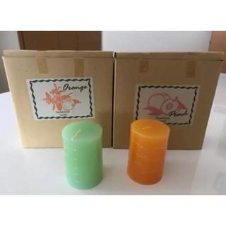 【新品】Herbs & Fruits Candle 2種(各6個)(キャンドル)