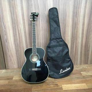 Lumber アコギ LF3 BK アコースティックギター(アコースティックギター)