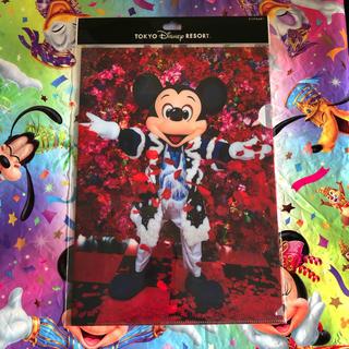 ディズニー(Disney)の新作♡ クリアホルダー イマジニングザマジック ミッキー ディズニーランド(クリアファイル)