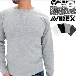 アヴィレックス(AVIREX)のヘンリーネックTシャツ(Tシャツ/カットソー(七分/長袖))