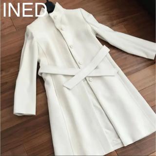 INED - INED コート 7号 オフホワイト