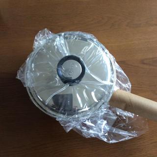 アムウェイ(Amway)のアムウェイ クイーンクック 中ソースパン  新品未使用(鍋/フライパン)