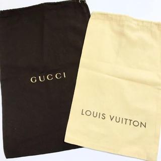 ルイヴィトン(LOUIS VUITTON)のLouis Vuitton&GUCCI シューズケース(その他)