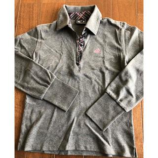 アディダス(adidas)のアディダス  ゴルフ  長袖ポロシャツ Sサイズ(ポロシャツ)