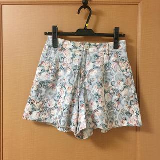 シマムラ(しまむら)の花柄ショートパンツ(ショートパンツ)