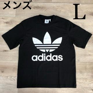 アディダス(adidas)のL アディダスオリジナルス Tシャツ ベーシックTシャツ 黒 ブラック(Tシャツ/カットソー(半袖/袖なし))