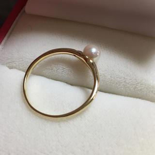 18金 パールリング(リング(指輪))