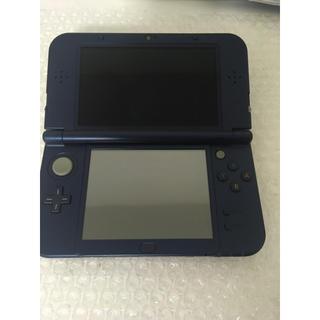 ニンテンドー3DS(ニンテンドー3DS)の任天堂 NEW 3DSLL 本体 メタリックブルー(携帯用ゲーム本体)