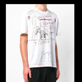 バレンシアガ(Balenciaga)のvetements(Tシャツ/カットソー(半袖/袖なし))