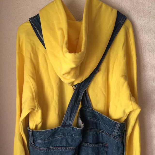 GU(ジーユー)のミニオン コスプレ コーデ メンズのパンツ(サロペット/オーバーオール)の商品写真