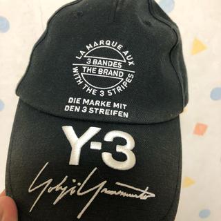 ワイスリー(Y-3)のy3ロゴキャップ(キャップ)