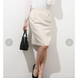 ヴィス(ViS)のヴィス ツイードスカート(ひざ丈スカート)