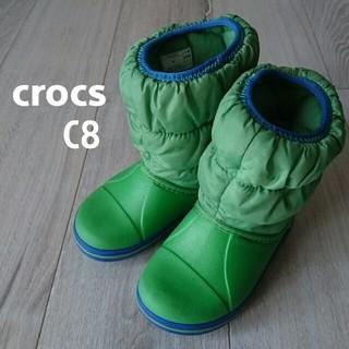 クロックス(crocs)のクロックス★c8★スノーブーツ★長靴★冬、雪(ブーツ)
